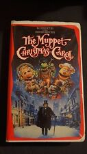 The Muppet Christmas Carol VHS Tapes Jim Henson Video Walt Disney Pictures