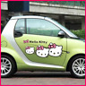 Hello Kitty Car Styling Funny Cartoon Car Stickers