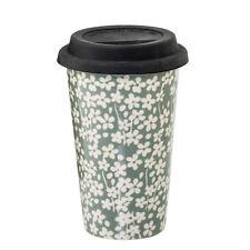 Bloomingville Seeke Coffee to go - Becher mit Deckel grau