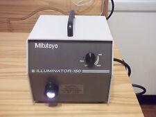 MITUTOYO 989-100 MICROSCOPE LIGHT SOURCE NEW BULB FREE SHIPPING