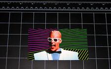 Max Headroom 80's retro style tv show vinyl decal / sticker 1980's pop culture