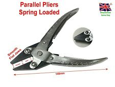 Flat Smooth Parallel Action Pliers Spring Loaded 140mm Jewellery Wire MakingTool
