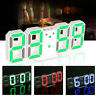 Digital LED Night Wall Desk Table Clock 24 12-Hour 8888 Display Alarm Snooze Set