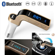 Wireless Bluetooth FM Transmitter Kit For Car Music MP3 Player Radio & USB Port