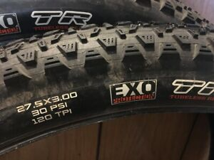 Maxxis Chronicle EXO/TR 27.5 x 3.0 120 TPI Bicycle Tire Pair