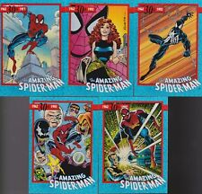 1992 MARVEL Spider-man 30th Anniversary Promo TRADING card set SM-1 TO SM-5