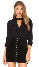 Bardot Brand Black Felix Long Sleeve Top Size 8 BNWT #TQ14