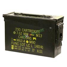 Box Scatola Cassetta Munizioni Militare NATO in Metallo ORIGINALE mod Tipo 1