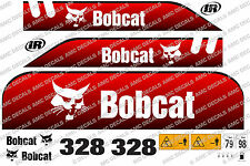BOBCAT 328D MINI DIGGER DECAL STICKER SET
