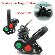 Motorcycle Handlebar ON OFF Headlight Turn Signal Switch Multi-function Parts