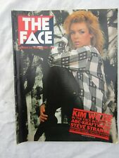 VINTAGE MUSIC MAGAZINE  THE FACE No 23 March 1982 Kim Wilde on the cover