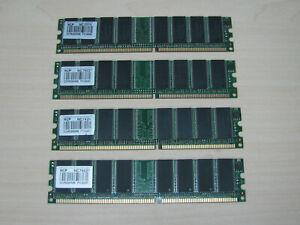 NCP DDR1 1GB (4 X 256MB) PC3200 DDR-400 184pin TEST OK!