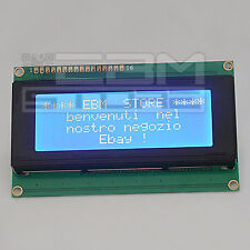 Display BLU 20x4 - lcd retroilluminato HD44780 arduino pic - ART. Z004