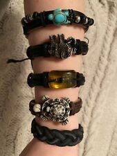 Leather Adjustable Bracelets