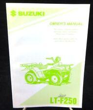 1996 Suzuki LT-F250 ATV  Owner's Manual-OEM 99011-20B58-03A Near Mint