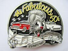 NEW Rock and Roll Koppelschloss der sagenhafte 50s Rocker Rockabilly.