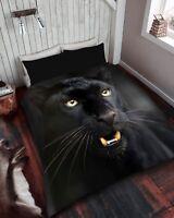 Luxury Black Panther Throw 3 D Fur Throw Soft Warm Fleece Blanket Sofa/Bed Throw