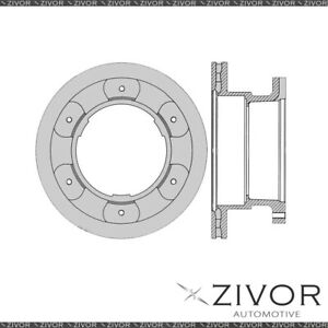 PROTEX Rotor - Rear For IVECO DAILY 65C18 2D C/C RWD 2007 - 2009 By ZIVOR