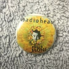 Flare Button Lapel Tie Hat Pin B22B Radiohead Pablo Honey 80-90s Music Rock Band