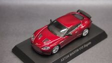 kyosho 1/64 ASTON MARTIN minicar collection V12 Zagato Red new