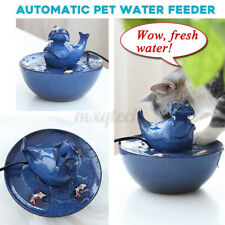 Electronic Automatic 1000ML Ceramic Pet Dog Cat Dispenser Pet Water Feeder Bowls