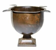"""WHOLESALE LOT OF (4) OLD PATINA INDOOR OUTDOOR CIGAR ASHTRAYS """"BEST SELLER"""""""