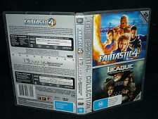 FANTASTIC 4 / THE LEAGUE OF EXTRAORDINARY GENTLEMEN (2-DISC) (DVD, M)(OTHER)