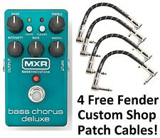 New MXR M83 Bass Chorus Deluxe Bass Guitar Effects Pedal! Free Fender Patches!