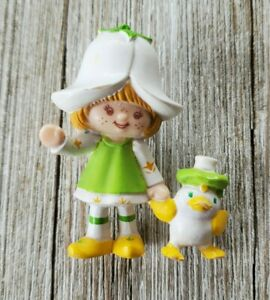 Vintage Strawberry Shortcake Mint Tulip Marsh Mallard Duck AGC Green Mini Figure