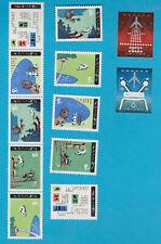 VR CHINA T47 (2x) und T51 (10x) postfrisch Briefmarken MNH stamps 1980 Gu Dong
