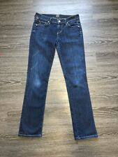 Citizens of Humanity Women's Low Rise Straight Leg Jeans Dark Wash Size 26