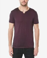 $380 BUFFALO DAVID BITTON Mens CLASSIC FIT PURPLE SHORT SLEEVE GRAPHIC T SHIRT S