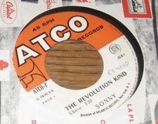 Sonny & Cher – The Revolution Kind French 7' Jukebox Garage Pop 65
