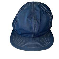 Vintage Columbia Gore-Tex Hat Snap Back Blue Baseball Cap USA