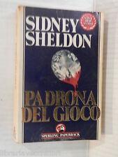 PADRONA DEL GIOCO Sidney Sheldon Tullio Dobner Sperling Paperback 1990 romanzo