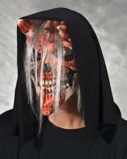 Skull Mask Whispers Bloody Horned decaying Flesh Halloween Costume Party M2009