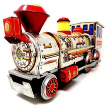 Vintage 60's - Modern Toy Tin Train - Battery Powered - Japan