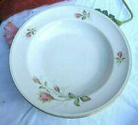 * hutschenreuther suppen teller mit rosendekor und gold feines porzellan vintage