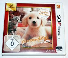 Nintendogs + Cats: Golden Retriever & neue Freunde (2011) 3DS & 2DS, gebraucht