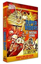 "2 DVD NF ""SUPER RIDERS Les fantastiques supermen / IMPACT 5 Karate motos"" SENTAI"