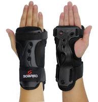 Paire Attelle de Poignet Protection Protège-poignet à Snowboard Ski -M Noir