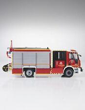 Iveco Magirus Team Cab Bomberos Valladolid 1/43 Salvat-Fire Ixo Pompiers Escala