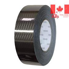 VViViD Black Carbon Fiber Air-Release Adhesive Vinyl Tape Roll 2 x 15ft Epoxy