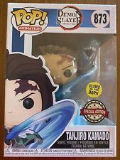 Tanjiro Kamado GLOWS Demon Slayer #873 Funko pop vinyl GITD