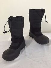 The North Face Winter Snow Boots w/Felt Liners Black Size 1