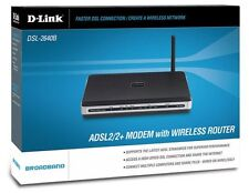 D-Link DSL-2640B - ADSL2/2+ Modem/Wireless Router - FREE SHIPPING ™