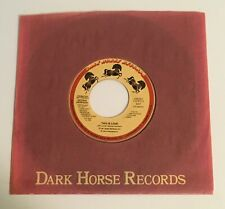 George Harrison / This is Love / Mint Promo Dark Horse 45
