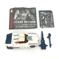 TRANSFORMERS Titans Return BREAKAWAY Deluxe COMPLETE Generations