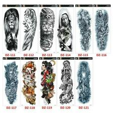 Men Women Arm Tattoo Temporary Tattoos Sticker Fake Tatoo Body Art Waterproof-3D