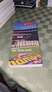 1997 St. Louis Cardinals Baseball Media Guide
